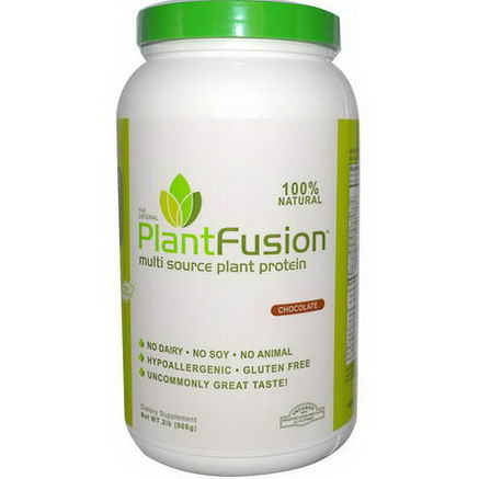 PlantFusion, Multi Source Plant Protein, Chocolate, 2 lb (908g)