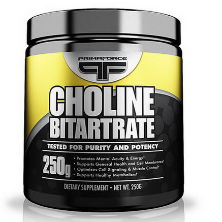 Primaforce, Choline Bitartrate, 250g