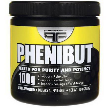 Primaforce, Phenibut, Unflavored, 100g