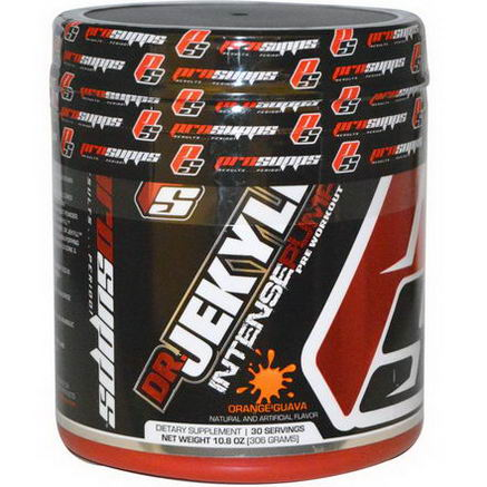 ProSupps, Dr. Jekyll Intense Pump Pre-Workout, Orange Guava, 10.8oz (306g)