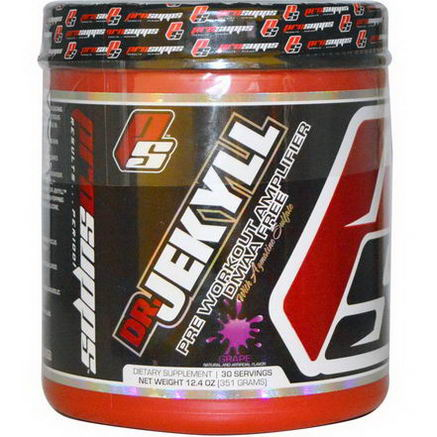 ProSupps, Dr Jekyll, Pre Workout Amplifier, Grape, 12.4oz (351g)