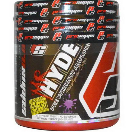 ProSupps, Mr. Hyde, Pre-Workout Amplifier, Grape, 9.3oz (264g)