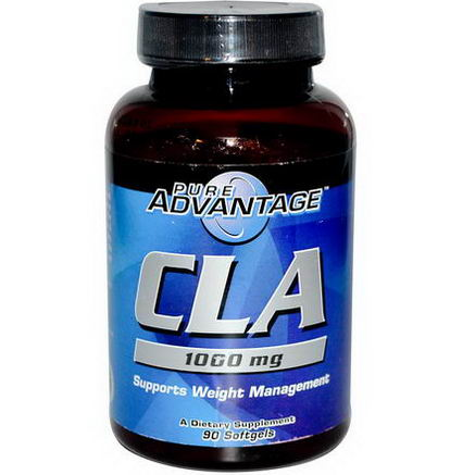 Pure Advantage, CLA, Supports Weight Management, 1000mg, 90 Softgels