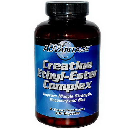 Pure Advantage, Creatine Ethyl-Ester Complex, 180 Capsules