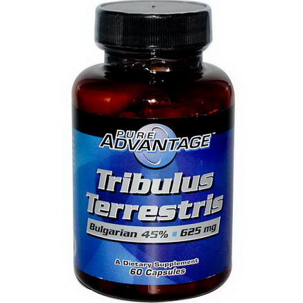 Pure Advantage, Tribulus Terrestris, 625mg, 60 Capsules