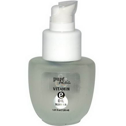 Pure & Basic, Vitamin E Oil, 30, 000 I. U. 1.01 fl oz (30 ml)