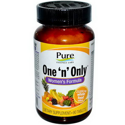 Pure Essence, One 'n' Only, Women's Formula, 90 Tablets