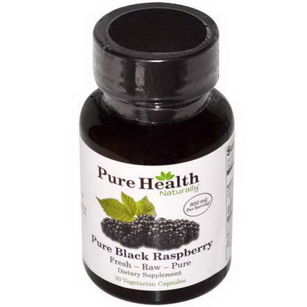 Pure Health, Pure Black Raspberry, 30 Veggie Caps
