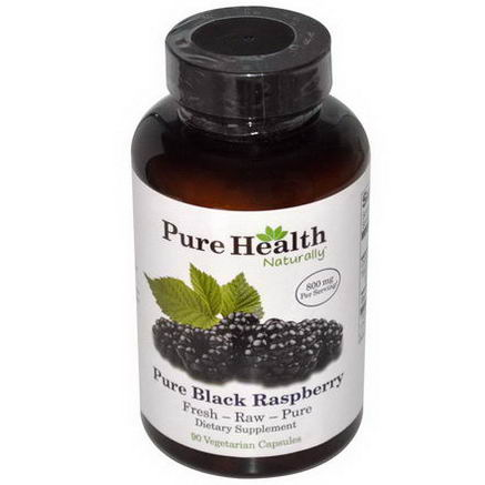 Pure Health, Pure Black Raspberry, 90 Veggie Caps