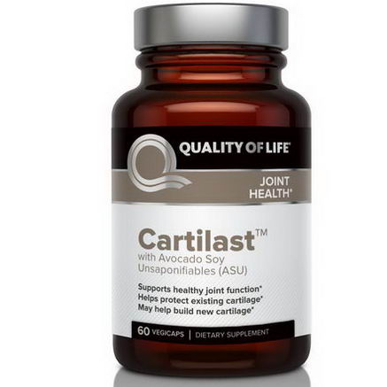 Quality of Life Labs, Cartilast, 60 Vegicaps