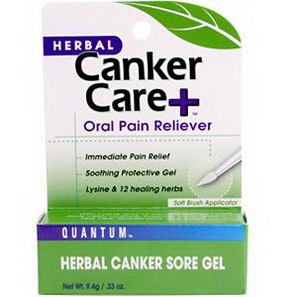 Quantum Health, Herbal Canker Care+ Oral Pain Reliever, 33 fl oz (9.7 ml)