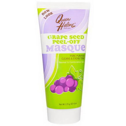 Queen Helene, Grape Seed Peel Off Masque, 6oz (170g)