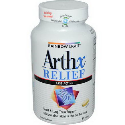 Rainbow Light, Arthx Relief, 80 Tablets