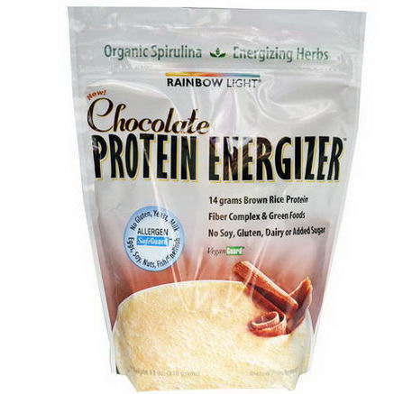 Rainbow Light, Protein Energizer, Chocolate, 11oz (318g)
