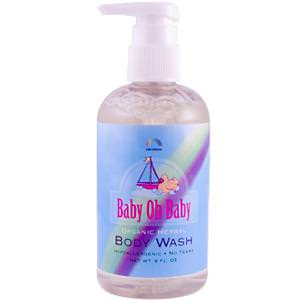 Rainbow Research, Baby Oh Baby, Organic Herbal Body Wash, 8 fl oz