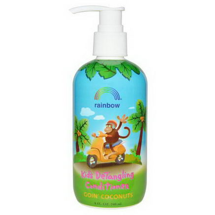 Rainbow Research, Goin' Coconuts, Kid's Detangling Conditioner, 8 fl oz (240 ml)