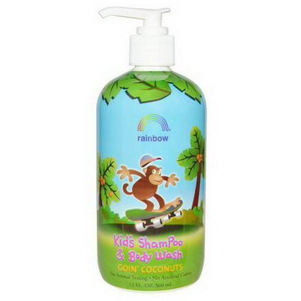 Rainbow Research, Goin' Coconuts, Kid's Shampoo and Body Wash, 12 fl oz (360 ml)
