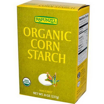 Rapunzel, Organic Corn Starch, 8oz (227g)