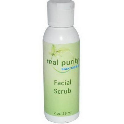 Real Purity, Facial Scrub, 2oz (59 ml)