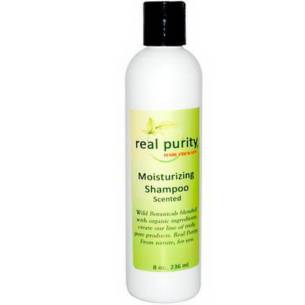 Real Purity, Hair Therapy, Moisturizing Shampoo, Scented, 8oz (236 ml)