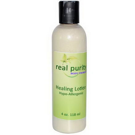 Real Purity, Healing Lotion, 4oz (118 ml)