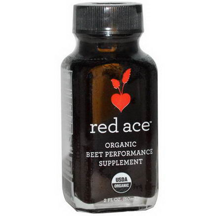 Red Ace, Organic Beet Performance Supplement, 2 fl oz (60 ml)