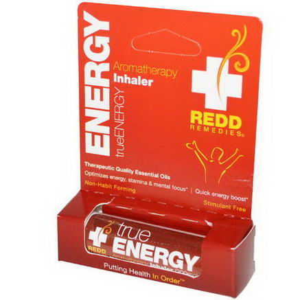 Redd Remedies, TrueEnergy, Aromatherapy Inhaler, 300mg, 1 Inhaler