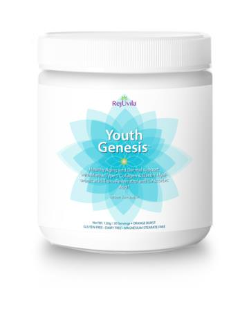 Rejuvila, LLC, Youth Genesis, Aging and Dermal Support, Orange Burst, 120g