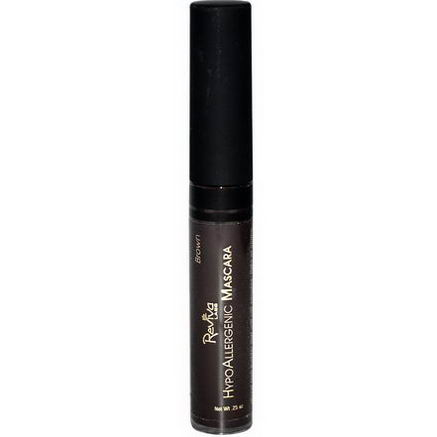 Reviva Labs, HypoAllergenic Mascara, Brown, 25oz