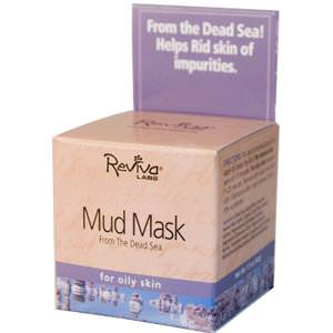Reviva Labs, Mud Mask, From the Dead Sea, 1.5oz (42g)