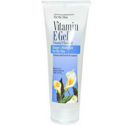 Robert Research Labs, Vitamin E Gel, 7.5 fl oz (200 ml)