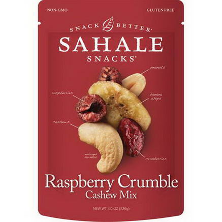 Sahale Snacks, Raspberry Crumble Cashew Mix, 8.0oz (226g)