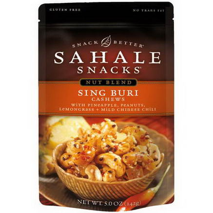 Sahale Snacks, Sing Buri Cashews, 5.0oz (142g)