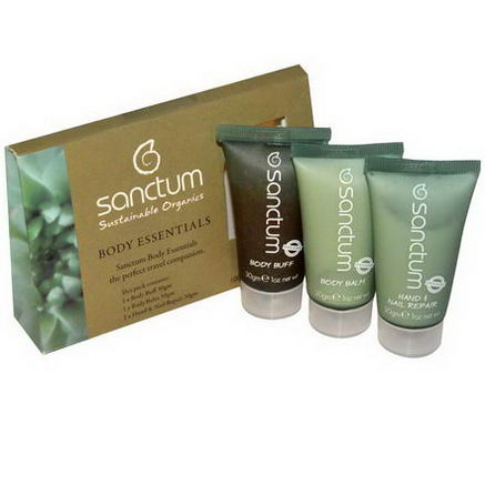 Sanctum, Body Essentials, The Perfect Travel Companion, 3 Pieces