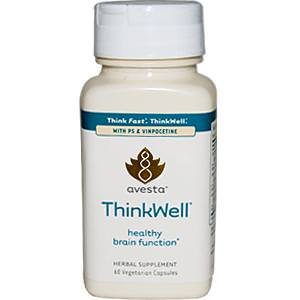 Savesta, ThinkWell, Healthy Brain Function, 60 Veggie Caps