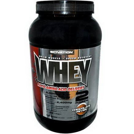 Scivation, Whey, Chocolate Fever, 1.9 lbs (863g)