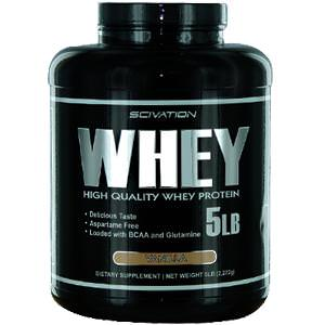 Scivation, Whey, High Quality Whey Protein, Vanilla, 5 lb (2, 272g)