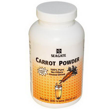 Seagate, Carrot Powder, 10.57oz (300g)