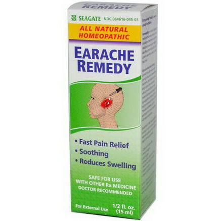 Seagate, Earache Remedy, 1/2 fl oz (15ml)