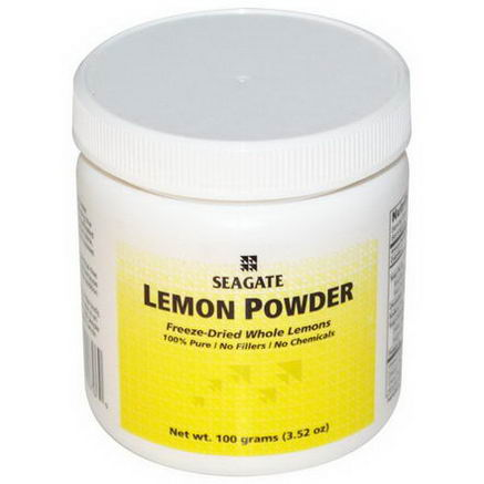 Seagate, Lemon Powder, 3.52oz (100g)
