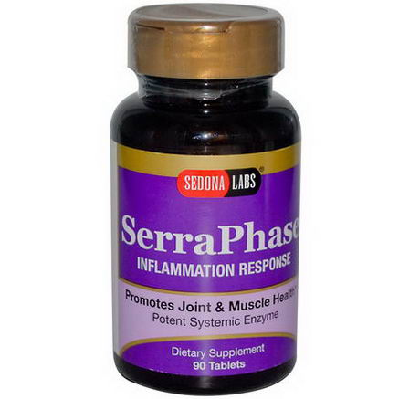 Sedona Labs, SerraPhase, Inflammation Response, 90 Tablets