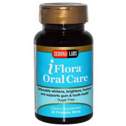 Sedona Labs, iFlora Oral Care, 30 Probiotic Mints