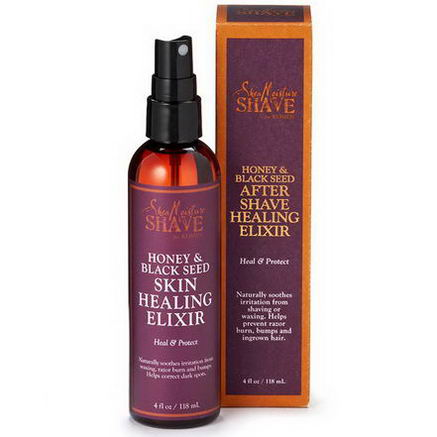 Shea Moisture, Shave for Women, After Shave Healing Elixir, Honey & Black Seed, 4 fl oz (118 ml)