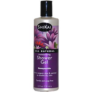 Shikai, Moisturizing Shower Gel, Honeysuckle, 12 fl oz (238 ml)