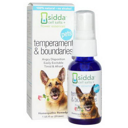 Siddatech, Pets, Temperament & Boundaries, 1 fl oz (29.6 ml)