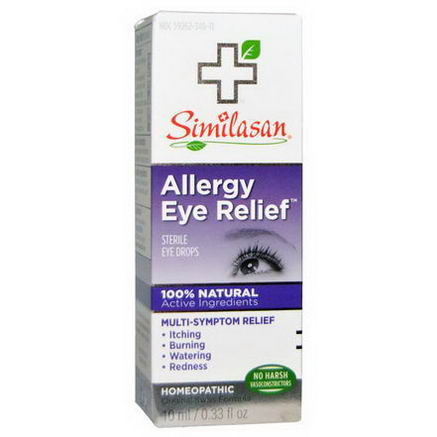 Similasan, Allergy Eye Relief, Sterile Eye Drops, 0.33 fl oz (10 ml)