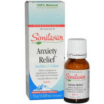 Similasan, Anxiety Relief, 0.529oz (15g)