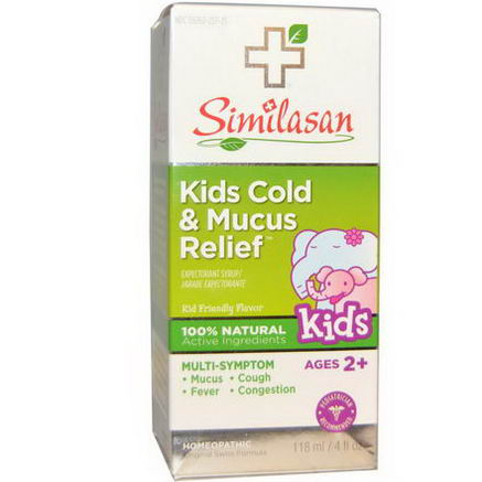 Similasan, Kids Cold & Mucus Relief, 4 fl oz (118 ml)