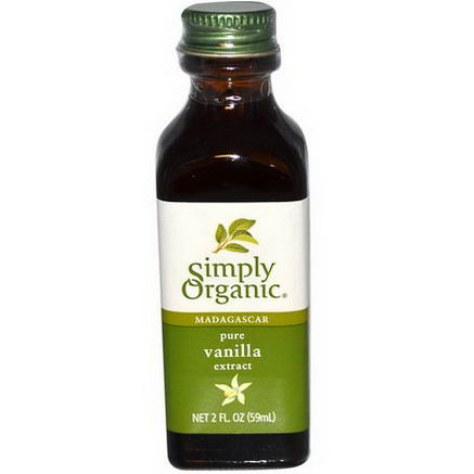 Simply Organic, Madagascar Pure Vanilla Extract, Farm Grown, 2 fl oz (59 ml)
