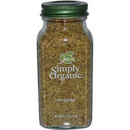 Simply Organic, Oregano, 0.75oz (21g)